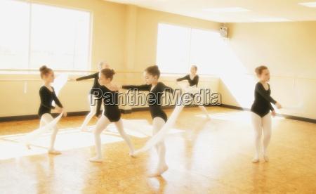 a dance class