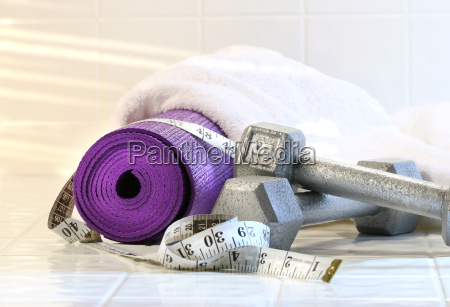 excerise mat with weights