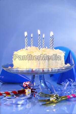 blue birthday celebrations