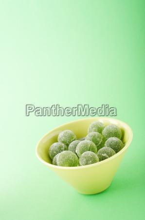 green marmalade balls