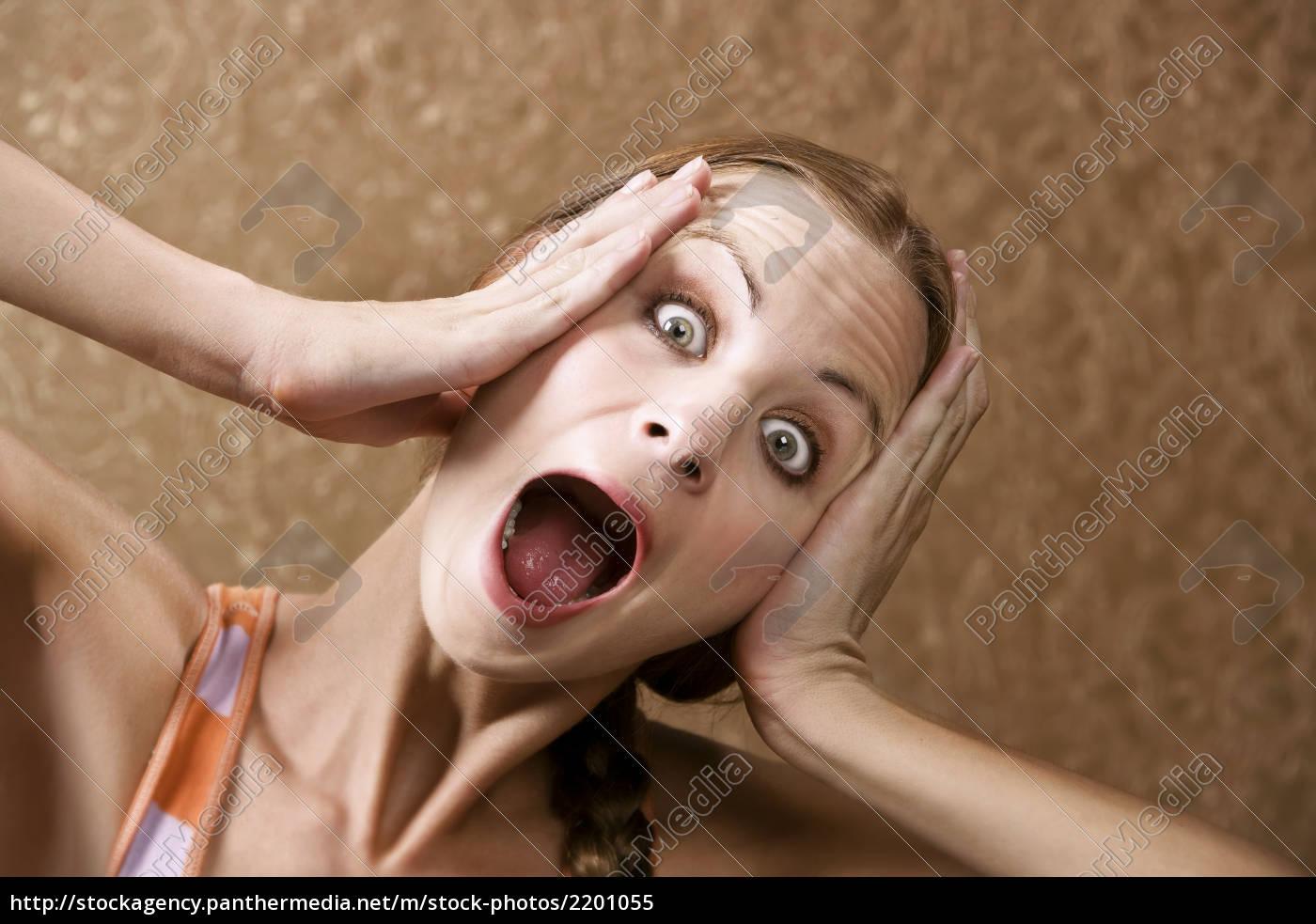 horrified, woman - 2201055
