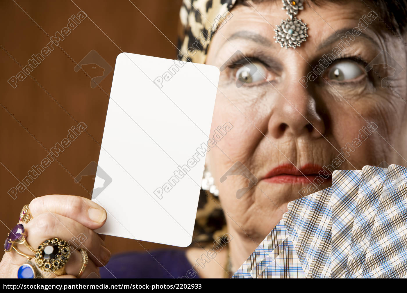 fortune, teller, with, blank, tarot, card - 2202933