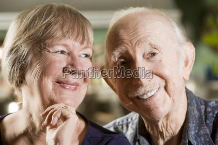 portrait, of, senior, couple - 2202377