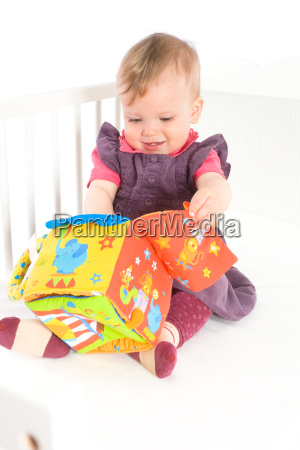 happy, cute, baby, girl, (9, months) - 2204083