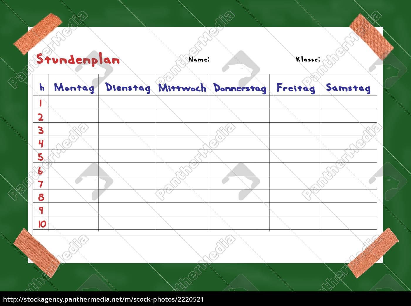 timetable - 2220521