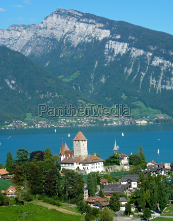 view of spiez