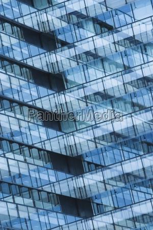 close up establishment background glass reflection