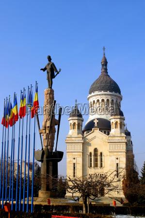 the, orthodox, church, of, cluj-napoca, , romania. - 2255493
