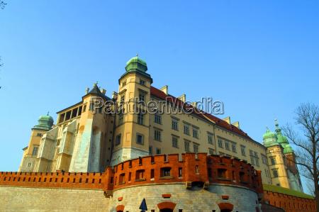 wawel, hill, , wawel, castel, , krakow, , poland. - 2255095