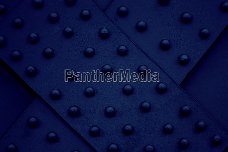 iron steel metal rivet dark blue