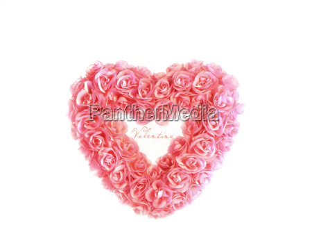 heart, with, tiny, pink, roses - 2261999