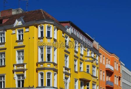 art nouveau house facade in berlin