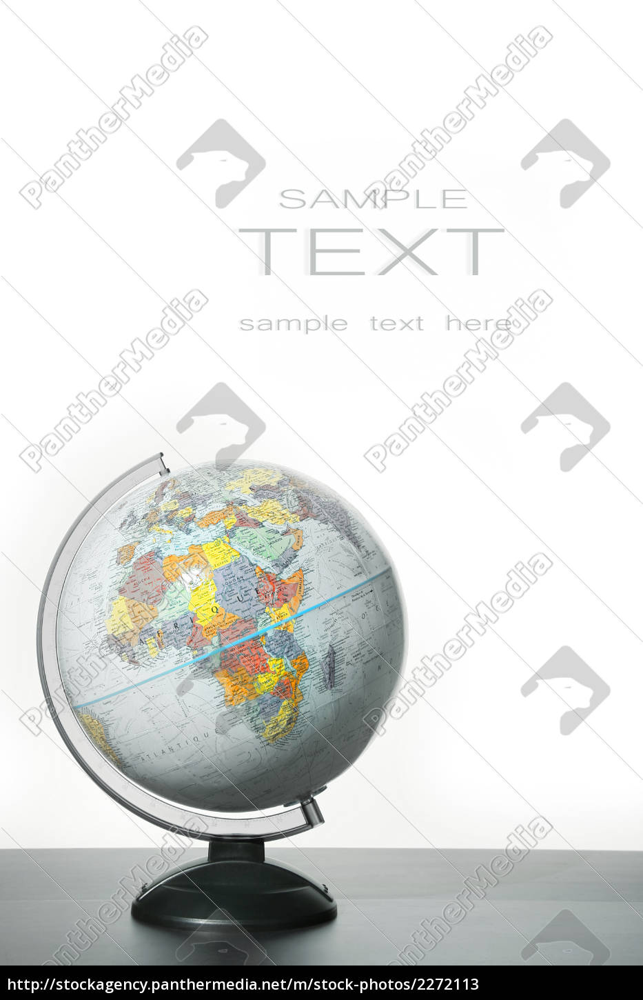 globe, with, stand, on, desk - 2272113