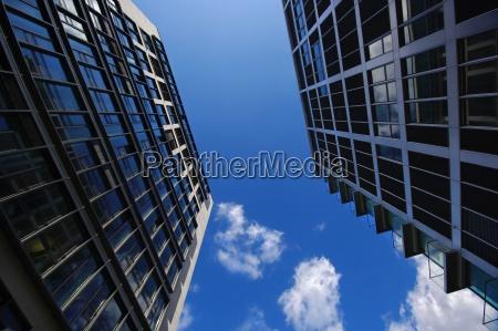 skyscrapers at potsdamer platz berlin