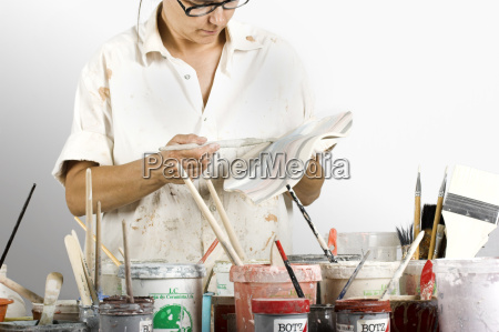 potter painting