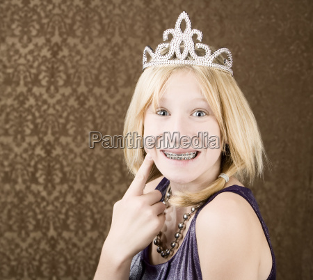 pretty, young, girl, with, a, tiara - 2277817