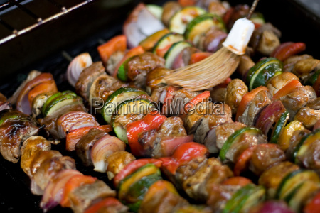 shish, kebabs, on, the, grill - 2277985