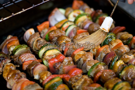 shish, kebabs, on, the, grill - 2278307