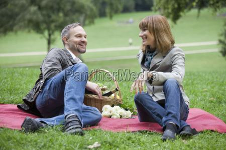 entertainment at picnic outdoors