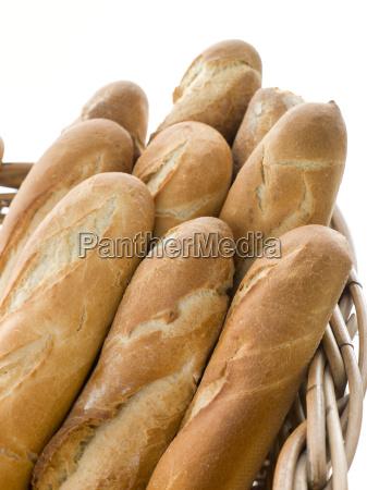 basket of french sticks