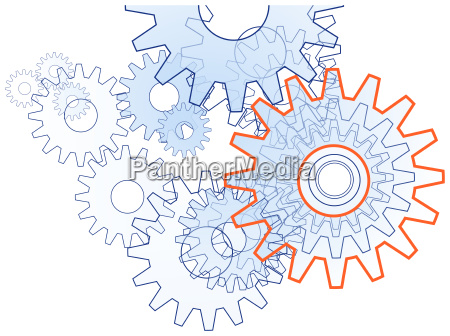 gear team technik symbol free