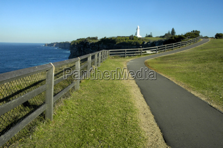 footpath to lighthouse