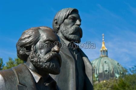 marx and engels alexanderplatz berlin