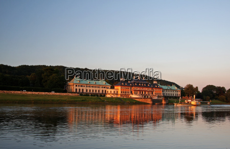 pillnitz castle on the elbe