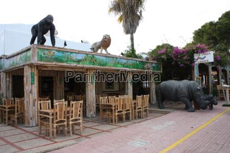 jungle bar restaurant