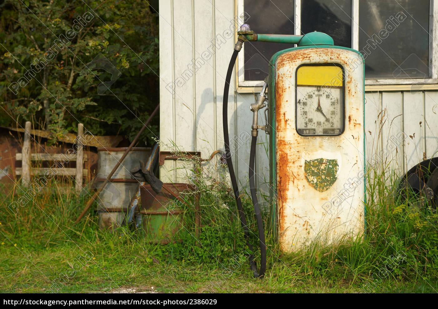 old, petrol, pump - 2386029