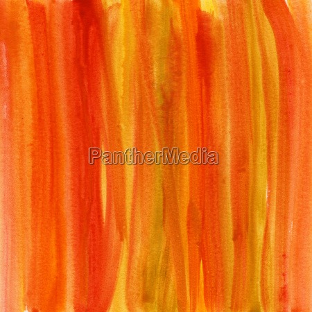 red brown yellow watercolor abstract background
