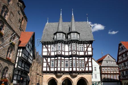 historisches rathaus in alsfeld hesse