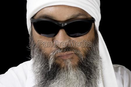 cool arabic man