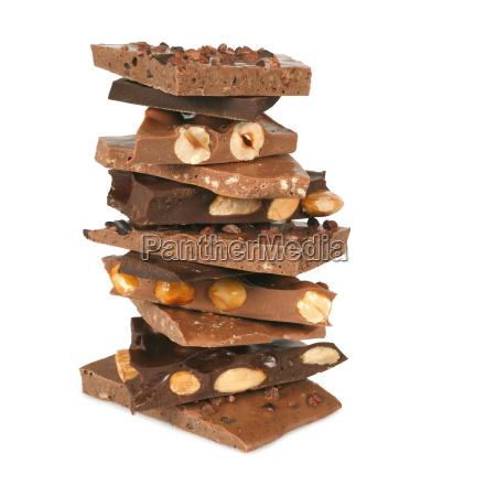 chocolate stack