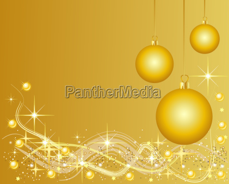 christmas background with christmas tree balls