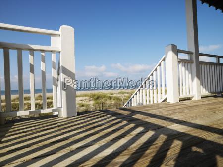porch at coast