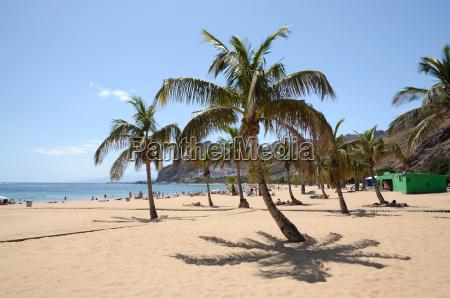 playa de las teresitas tenerife spain