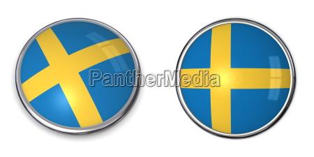 banner button sweden