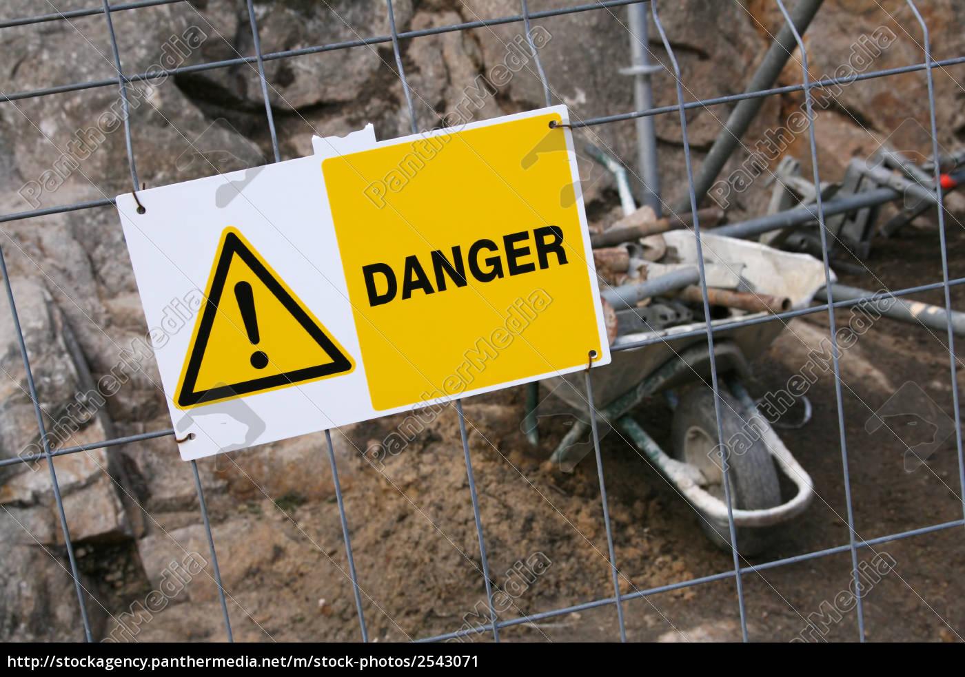 chantier, interdit - 2543071