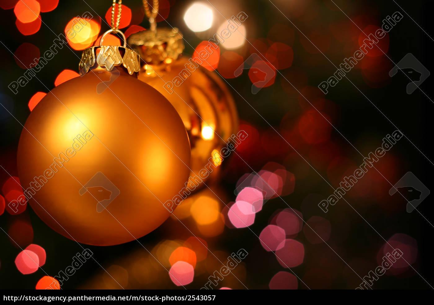 christmas, golden, ball - 2543057