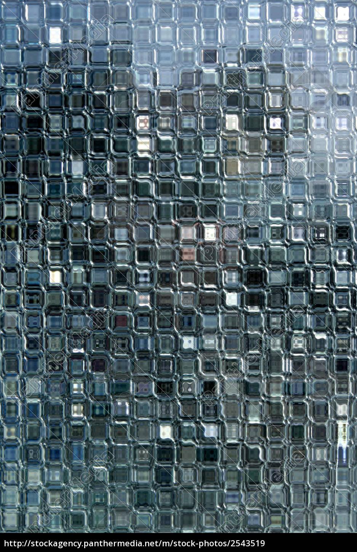small, glass, blocks, in, a, window. - 2543519