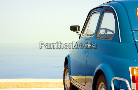 travel, destination:, vintage, car, parked, near - 2543385