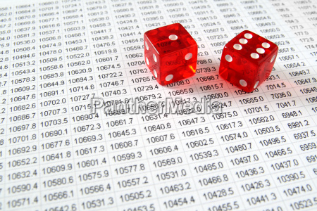 two, red, dice, on, a, spreadsheet - 2543521