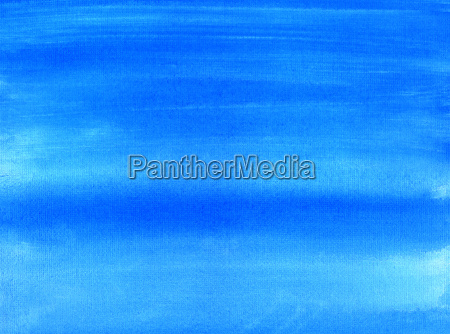 blue painted canvas watercolor wash background