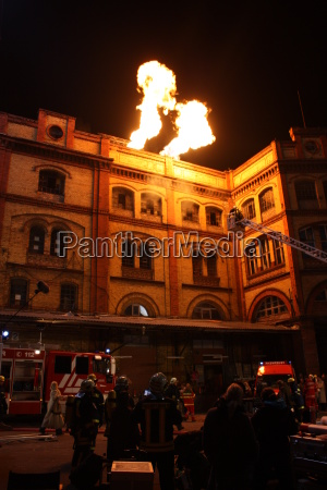 flames, wall - 2586717