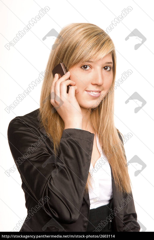 woman, phoning - 2603114