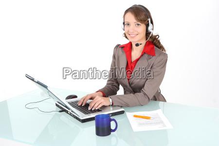call center agent work