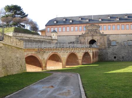 citadel aufen petersberg in erfurt