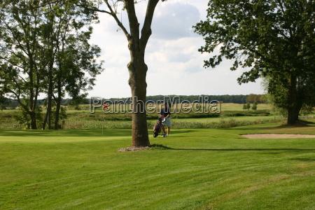 golfpark strelasundhole 17golfer