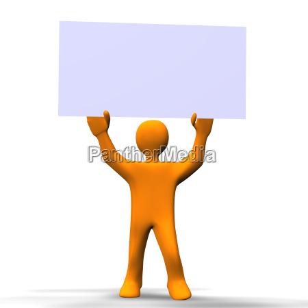 persona cartel mapa dibujos animados apariencia